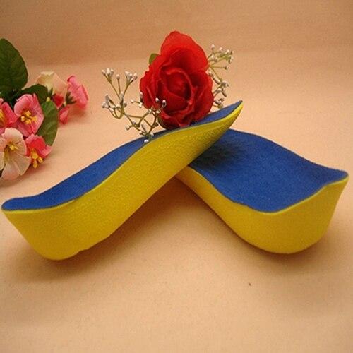 Womens Mens 1 Pair 2cm High Increasing Heel Lift Pad Half Shoe Insoles <br><br>Aliexpress