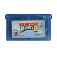 Nintendo GBA Video Game Cartridge Console Card Donkey Kong Country 3 English Language Version(China)