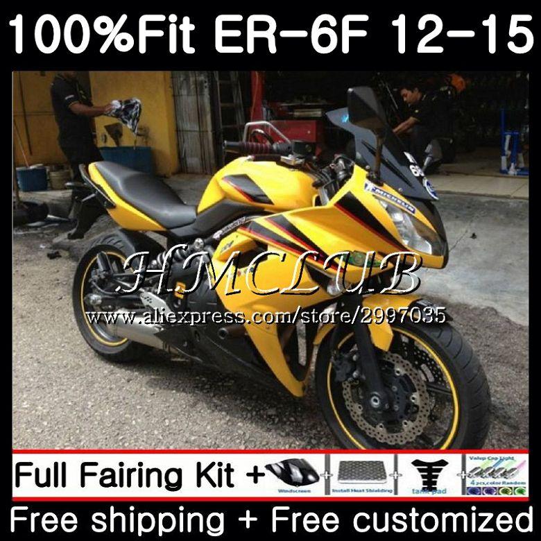 Fairing Kit for Kawasaki Ninja 650 ER6F ER-6F 2012 2013 2014 2015