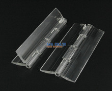10 Pieces Clear Acrylic Plastic Hinge Plexiglass Hinge / Size: 100X42MM(China)