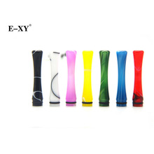 E-XY New arrival Colors 510 Resin Drip Tips For 510 E Cigarette Atomizer mouthpiece RDA Atomizer EGO Drip Tips(China)