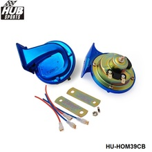 Hubsports - Hi Quality copper wire Chromatic Blue electric car/Electrical/Snail Horn For Car/Auto/Truck  HU-HOM39CB