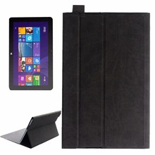 CUBE i7 Book Tablet Ultrathin Horizontal Flip Leather Case with Three-folding Holder for CUBE i7 Book Tablet PC