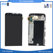 Buy Original LCD Display LG G5 H850 H840 H860 H820 Touch Screen Digitizer Assembly Frame Replacement Parts for $34.89 in AliExpress store