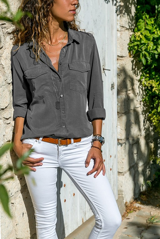 office blouse women plus size 5XL long sleeve blusas mujer de moda 2018 tallas grandes spring autumn shirt top women blouse
