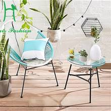 AdMix by design/ACAPULCO mixed aesthetics outdoor furniture design modern rattan patio chair(China)