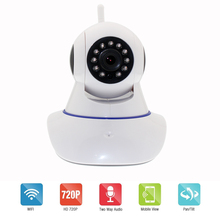 Buy 720P Security Network CCTV Wifi Surveillance Camera Wireless HD Security IP Camera IR Night Vision baby Monitor local alarm for $27.83 in AliExpress store