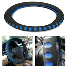 EVA Punching Universal Car Steering Wheel Cover Diameter 38cm Automotive Sup High Quality Car Styling Accessories 3 Colors