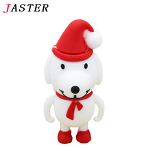 JASTER 100% real capacity Christmas tree model Pen Drive cartoon gift 8GB 16GB 32GB Usb Flash Drive Pendrive memory stick