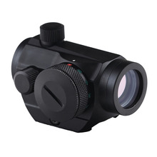 BIJIA Hunting Optics Tactical Mini 1X22 Red Green Dot Sight 5 models brightness adjustment Riflescope Scope Reflex Lens