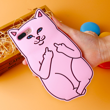 DOEES 3D Pocket Cat Silicon Case For iPhone 7 6 6S Plus 5 5S Luxury Cute Cartoon Case Cover For iPhone 7 Plus 6S Plus 5S 5G SE
