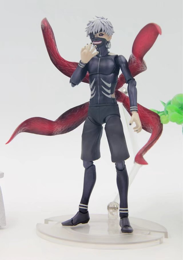 2017 new 1set 16CM Japanese anime figure Tokyo Ghoul figma kaneki ken action figure collectible model toys brinquedos<br>