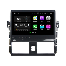 Quad Core Android 7.1.2 Car Player GPS Navi Auto radio Multimedia System For Toyota VIOS / YARIS 2013-2015 With Wifi BT 3G/4G(China)