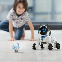 New Arrival WoWee Intelligent Electric Dog Robot Puppy Child Toy Robot Educational Toys High Quality Gift Kids Christmas Gifts(China)