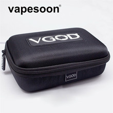 Original VGOD Case Bag for Electronic Cigarette Vape Kit as iJust S iStick Pico Mod Melo 3 Mini Tank DIY Tools liquid Bottle etc(China)