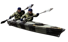 [DIWEINI] 1 35 scale resin model figures kit  special forces with boat  incloud boat