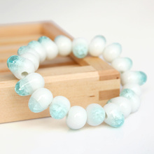Sea-maid teardrop Water Drop OL crystal like bracelets Famous Ceramics made in china free shipping birthday gift Special price(China)