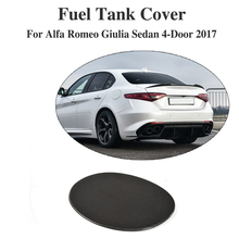 Buy Carbon Fiber Oil Gas Fuel Tank Cap Protector Pad Cover Sticker Alfa Romeo Giulia 4-Door 2017 Car Styling for $57.40 in AliExpress store