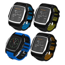 GT68 Bluetooth Smart Watch Phone Call SMS APP Notification With Anti-lost Pedometer Sleep Monitoring for IOS Android with GPS