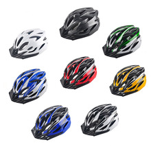 Hot Sale Mountain Bike Helmet Men Women Back Light Road Cycling Integrally Molded Safety In-mold Helmets Ultralight 8 Colors(China)