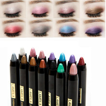 New Cheap Makeup Shimmer Glitter Eyes Eyeshadow Powder Pigment Waterproof Single Color Eye Shadow Pencils 14 Colors Optional