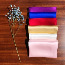 ciciTree 100% Natural Silk Men Pocket Square Men's 35cm Plain Solid Color Handkerchief for Wedding Party father's day gift(China)