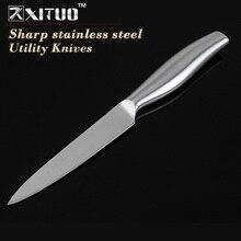 """XITUO 5 """"дюймовый кухонный нож Sharp Нержавеющей стали нож Стейк мясо кливер Пилинг Ножи кухонные аксессуары инструменты(China)"""