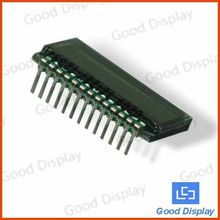 Small 7 segment 4 digit TN lcd panel GDC0209 4com lcd