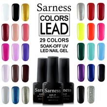 Gel Varnish 8ml Solid Pure Colors Gold Soak Off UV LED Lamp Nail Art Salon Painting Cheap Gel Nail Polishes