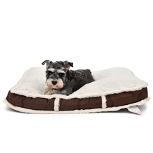 Super Soft Dog Cat Bed Cover Pet Bed Cushion Suede Cozy Lithe Suitable Large Bed Chocolate Color Pet Product Wholesale