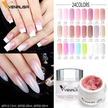 #60950 CANNI New Arrival Builder Gel Hard Gel 50ml LED/UV Gel Venalisa Nail Art Extension DIY Nail Gel