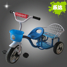 Bicycle tricycle bassinet double new 1-3-5 old high-end manufacturers wholesale(China)