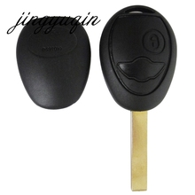 New Uncut Blade Blank Key Shell Case Remote Fob Cover For BMW Mini Cooper R50 R53 With Sticker