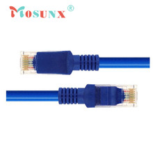 Ecosin    Blue Ethernet Internet LAN CAT5e Network Cable for Computer Modem Router JAN18