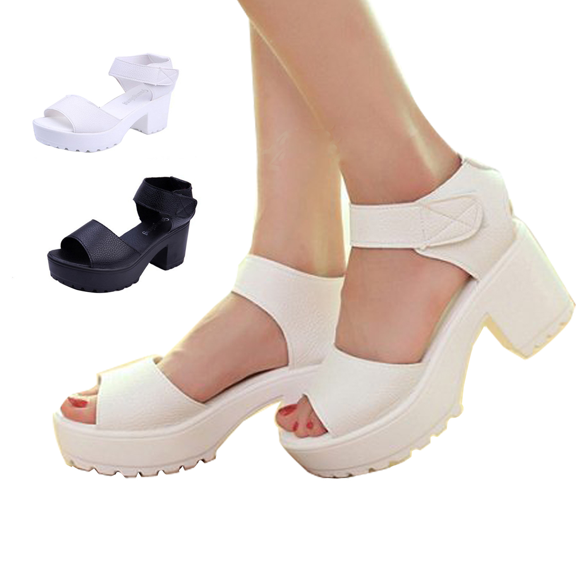 Free shipping 2017 summer Platform for womens shoes open toe sandals female thick heel platform wedges platform womens shoes<br><br>Aliexpress