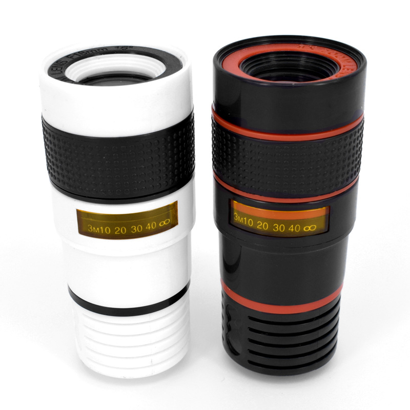 High-Definition Universal 8x telephoto telescopic camera lens For iPhone 6 6s Plus 5S SE 7 7Plus/Samsung Galaxy S6 S7 Edge Plus 7