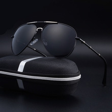 New Brand Polarized Mens Black Aviation Sunglasses Pilot Driving Vintage Glasses for Ladies Men Driver oculos de sol feminino