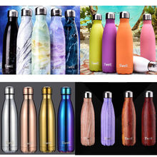17oz Swell thermos vacuum flask Expansion bottle of water bottle coffer cup sports kettle vacuum flask electroplating bottle