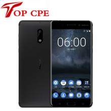 "Original Nokia 6 LTE 4G Mobile Phone 4G RAM 1080P Dual Sim Android 7.0 Octa Core 5.5"" 16.0 MP Fingerprint Refurbished Smartphone(China)"