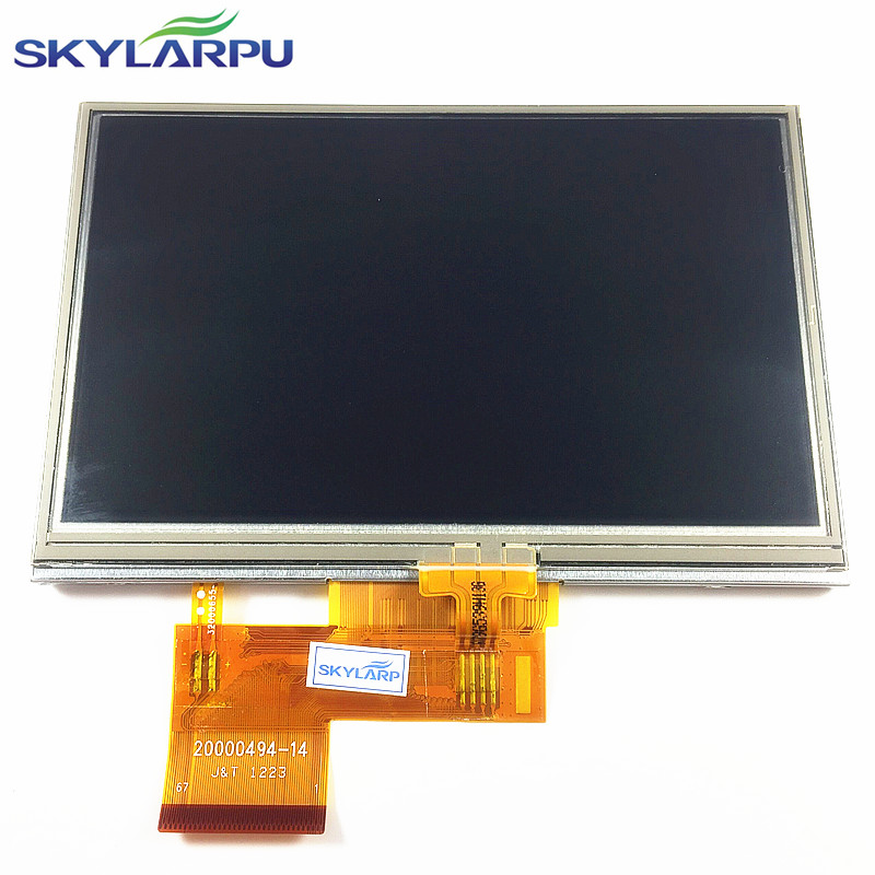 skylarpu 4.3 inch LCD screen for GARMIN Nuvi 2447T CE Lifetime GPS LCD display Screen panel with Touch screen digitizer<br>