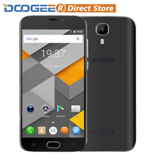 "DOOGEE X9 Mini Fingerprint 5.0"" HD 1280*720 Smartphone Android 6.0 MTK6580 Quad Core Cellphone 1GB+8GB 5MP 2000mAh Mobile Phone(China)"
