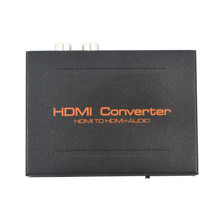 New HDMI to HDMI Audio Video Extractor Converter Splitter Adapter Optical SPDIF Suppport 5.1 RCA L/R EU US Plug for HDTV DVD PC