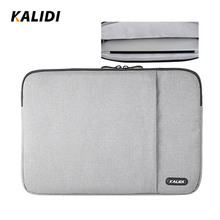 KALIDI 17 inch Laptop Sleeve Bag Waterproof Notebook Case For HP Dell Acer Asus Sony Laptop Case for Mackbook 11 13.3 15.6 17.3(China)