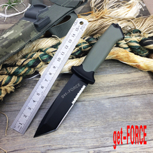 get-FORCE G1500 Tactical Fixed Knives,12C27 Steel Blade Outdoor Tools Hunting Knife,Camping Survival Knife.Hunting Camping Knive(China)