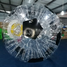 Awesome soccer ball 0.8mm pvc,how much is a zorb ball on sale