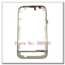 Original Metal Middle Frame Bezel Plate Housing With Side Button Key Flex Cable For Blackberry Classic Q20 Free Shipping