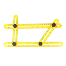 Practical Measuring Instrument angle-izer template tool four-sided ruler mechanism slides  For Builders Artisan  High Accuracy