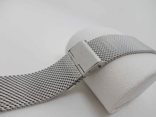 Milanese Loop High Quality Stainless Steel Bracelet Man/Lady watchband 12/14/16/18/20/22//24mm for apple watch / Adpater(China)