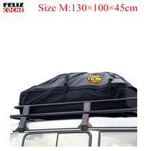 Size M Universal Roof Top Cargo Carrier Bag Roof Top Waterproof Luggage Travel Cargo Rack Storage Bag Carrier A2122