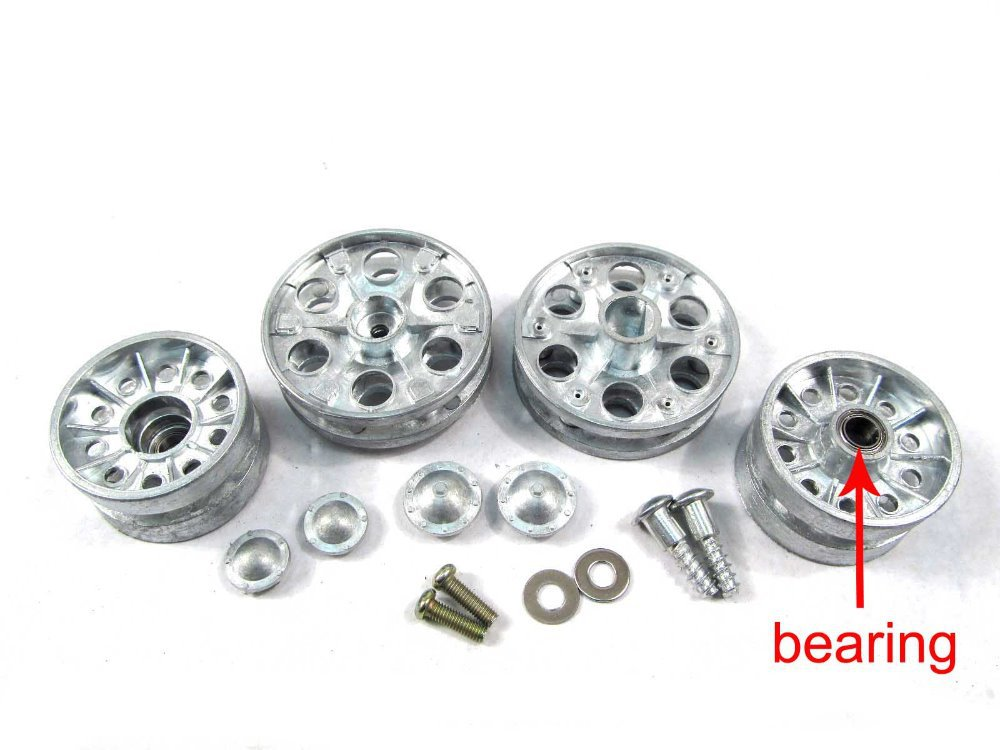 Mato 1:16 1/16 T-34/85 metal sprockets &amp; idler wheels with bearing (for Heng Long 3909-1 T-34/85 tank), metal parts for tank<br><br>Aliexpress